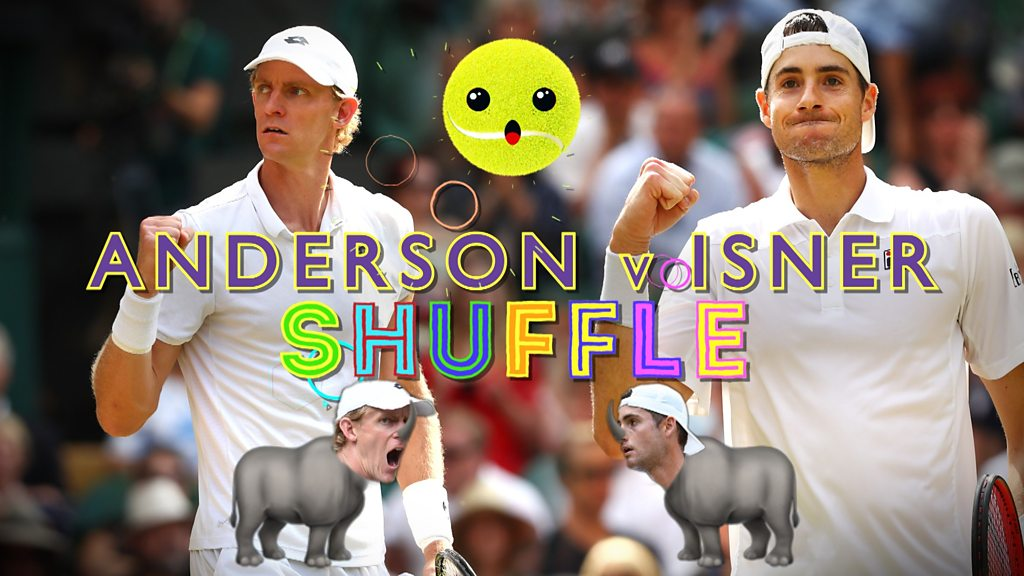 Wimbledon 2018: Ladybirds, six-packs and rhinos as Kevin Anderson and John Isner make history