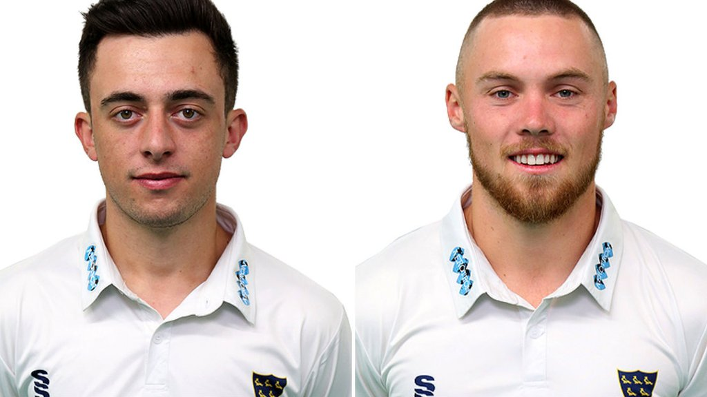 Salt and Haines score maiden Sussex hundreds