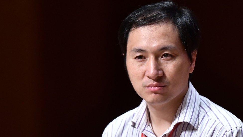 He Jiankui: China condemns 'baby gene editing' scientist
