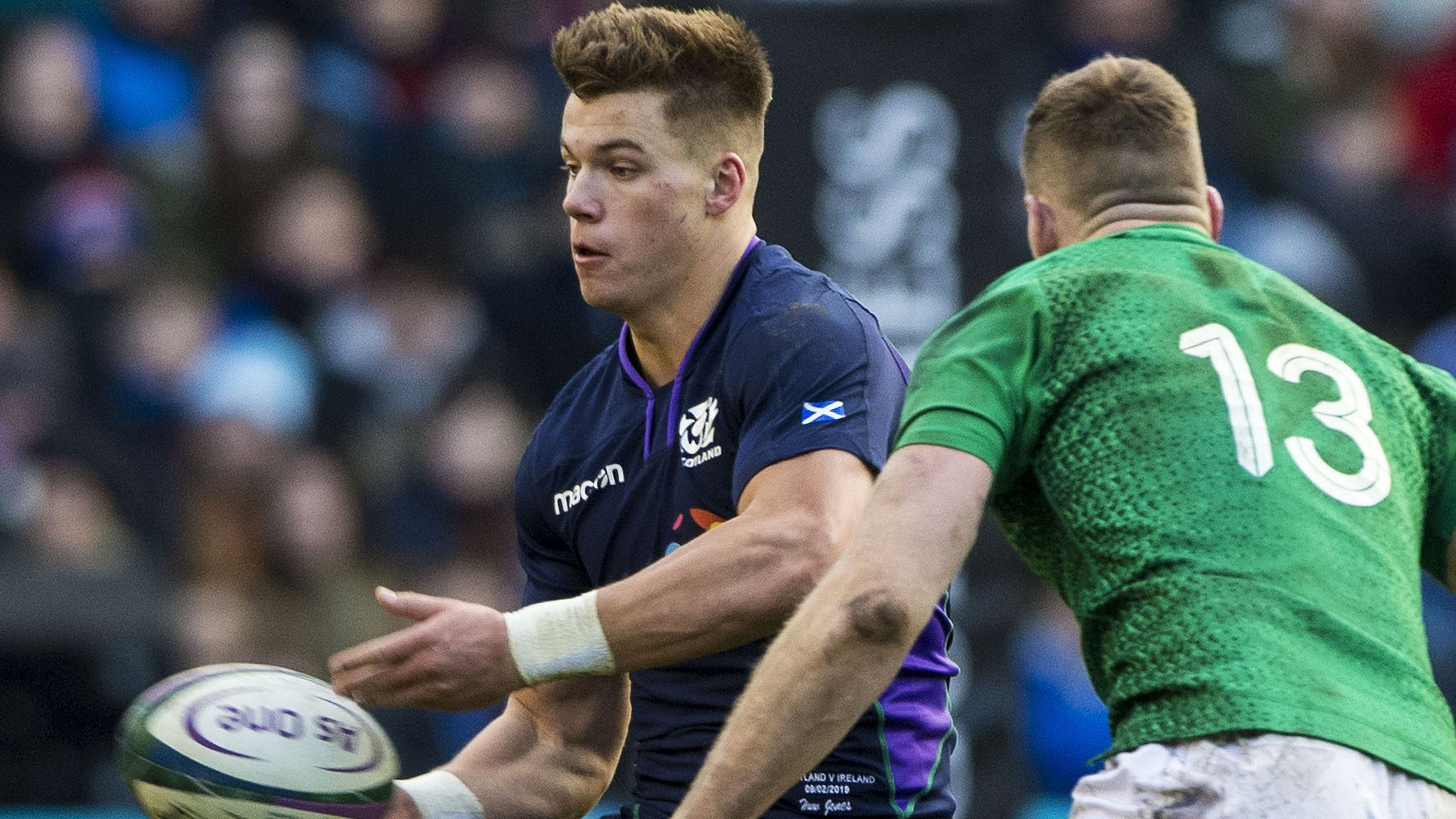 Jones joins Hogg as likely absentee for rest of Scotland's Six Nations campaign