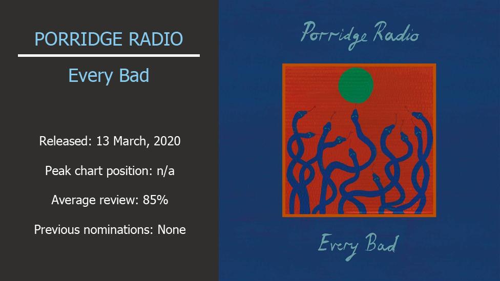 Porridge Radio album artwork
