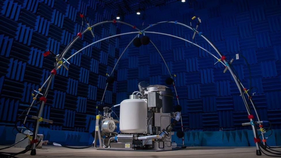 Sistema universal de manejo de desechos de la NASA.
