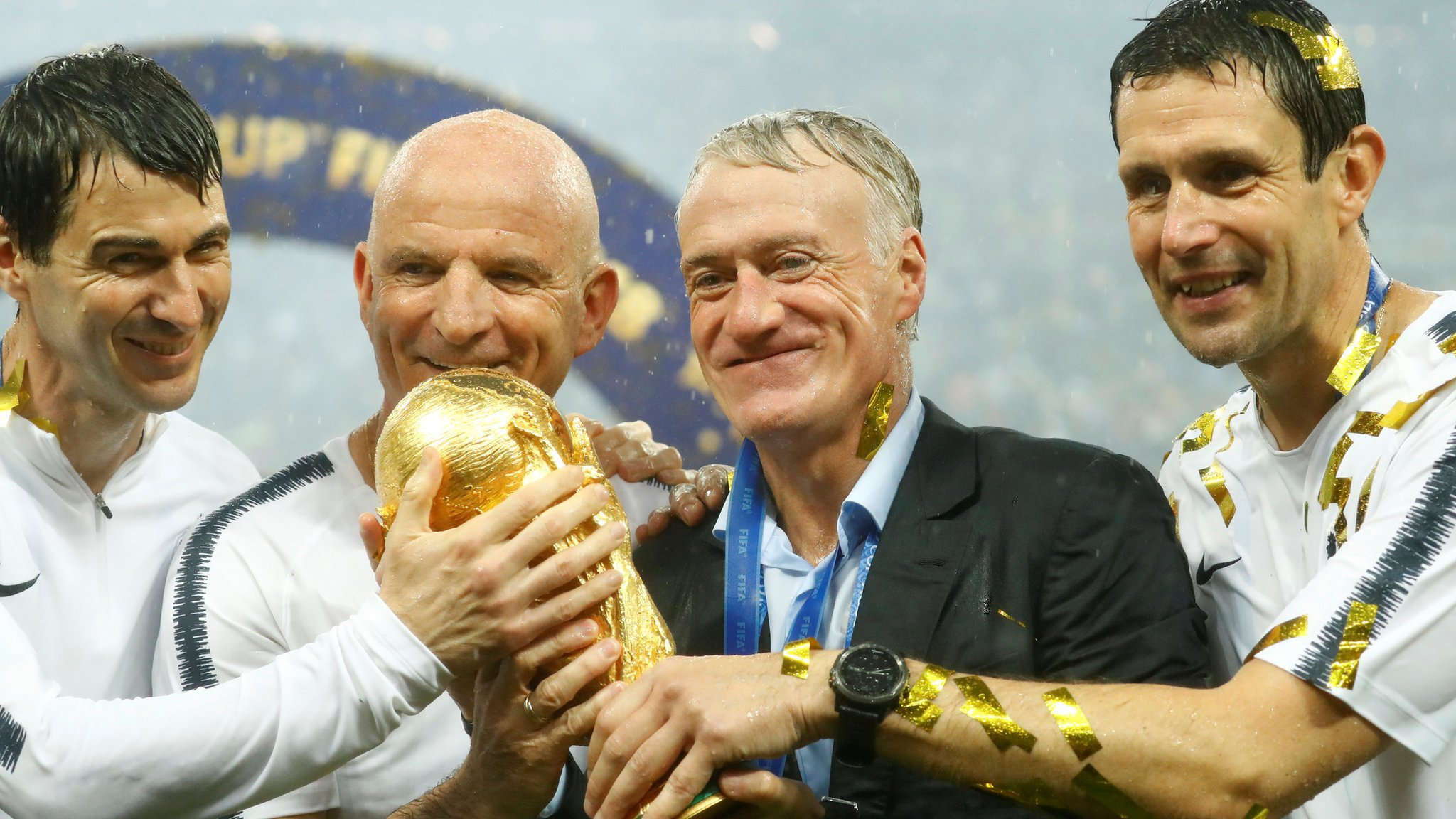 World Cup win is 'supreme coronation' - Deschamps