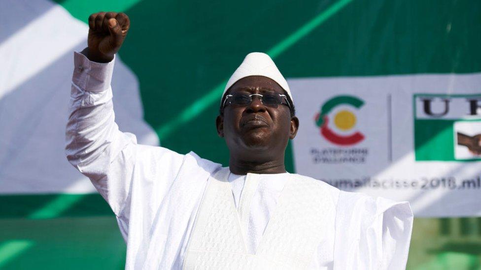 Former Malian presidential candidate Soumaïla Cissé, 8 July 2018
