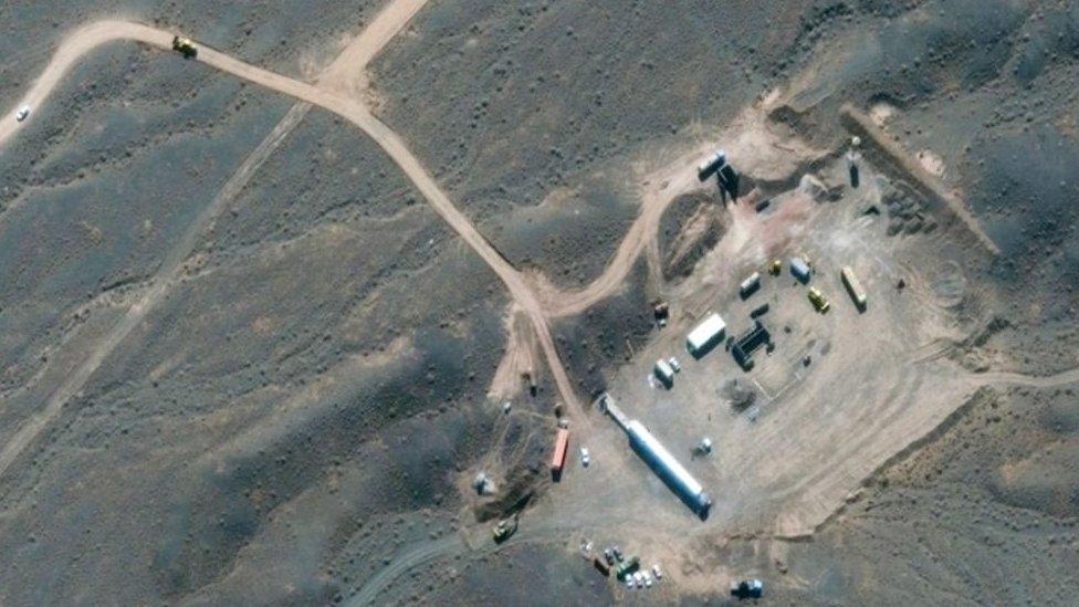 Uno de los sitios de desarrollo del programa nuclear en Irán.