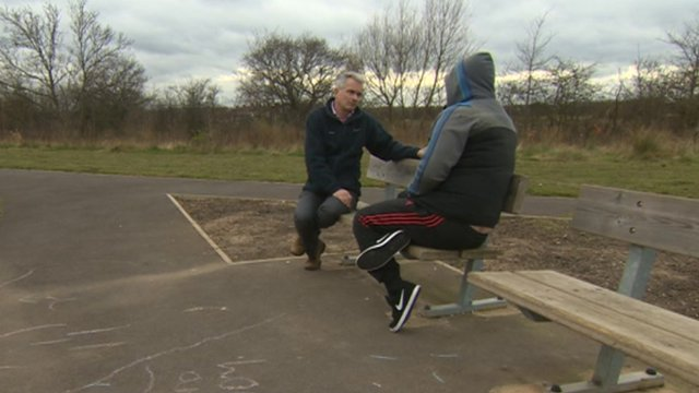 BBC Look North interview with legal high addict