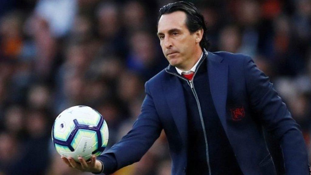 Wolves 3-1 Arsenal: Unai Emery hopeful of top-four finish despite defeat