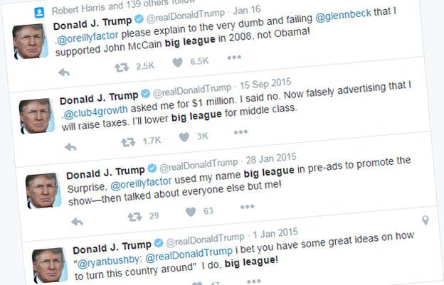 Tweets by Donald Trump