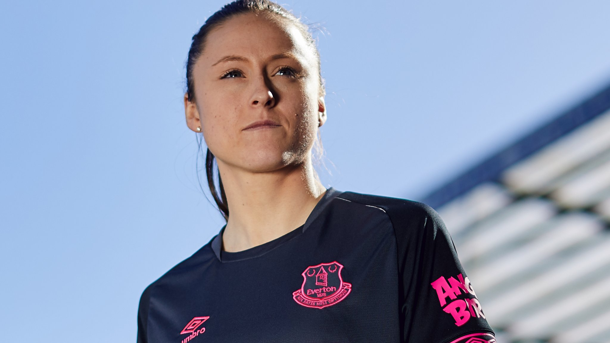 Everton kit launched by ladies squad in Premier League first