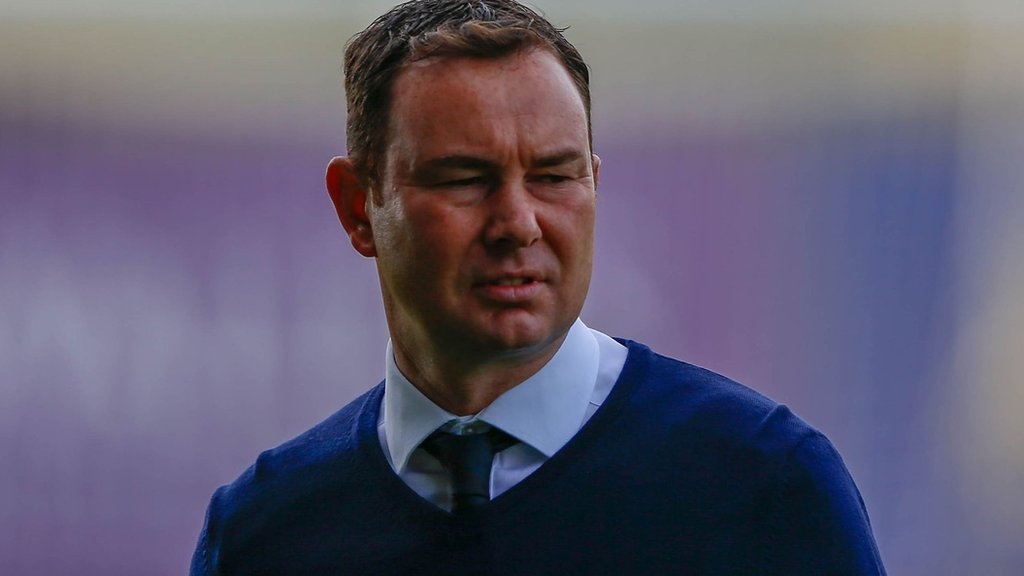 Derek Adams: Plymouth boss hits out at 'yobbish' fans and 'poisonous' atmosphere