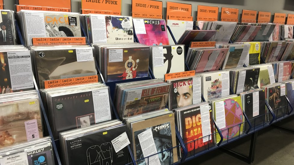Records at Piccadilly Records