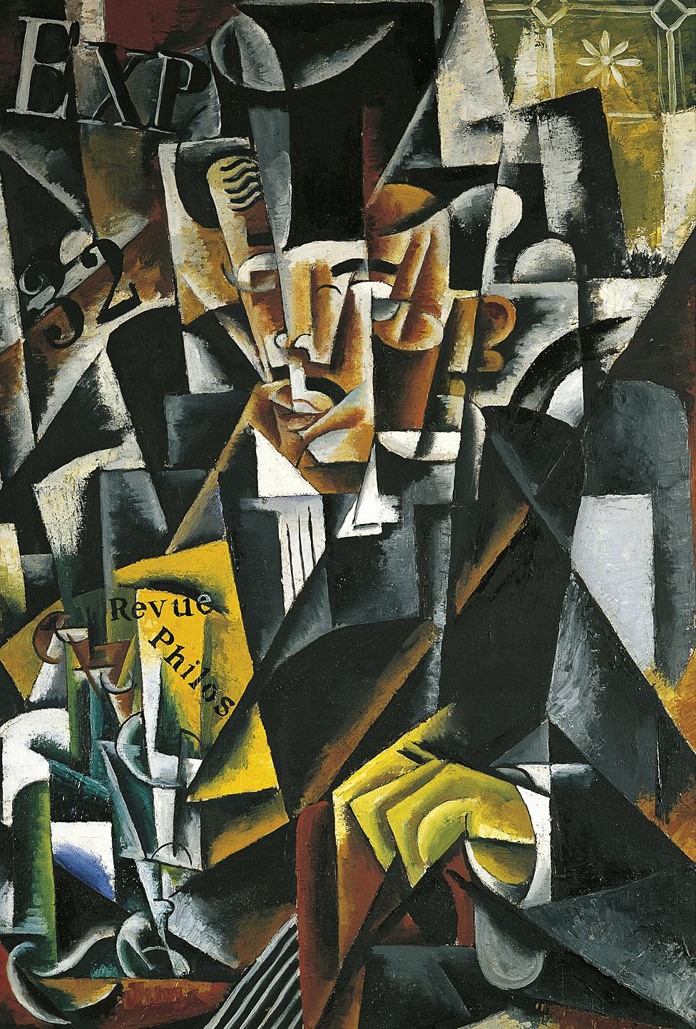 """El filósofo"", obra de Lyubov Sergeyevna Popova 1889-1924)"