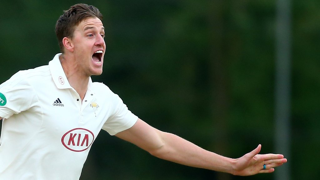 County Championship: Yorkshire rescued by rain in draw at Surrey