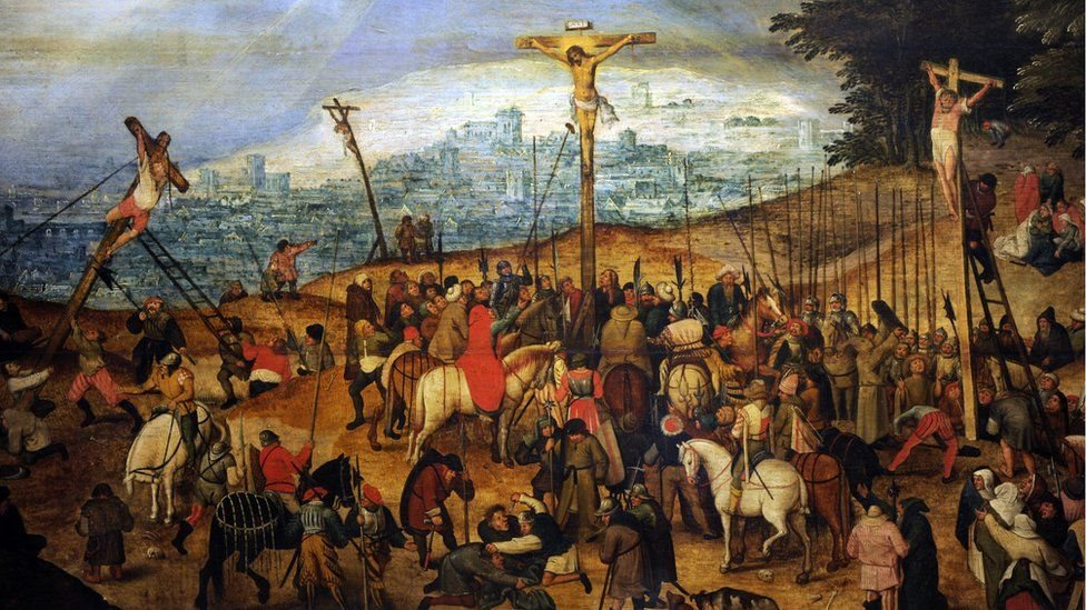 Lukisan The Crucifixion
