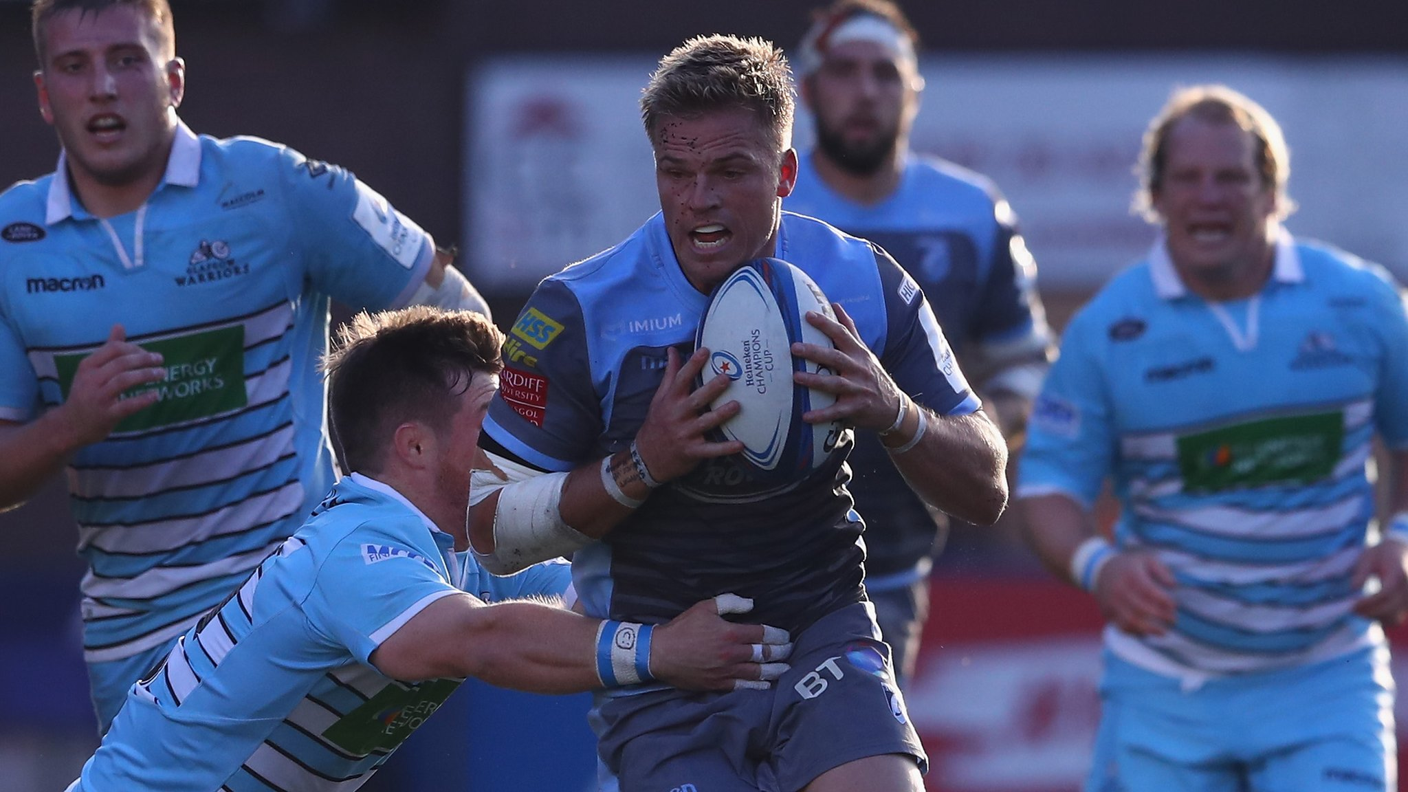 Cardiff-Glasgow kit clash an 'out-and-out disgrace' - Gareth Anscombe