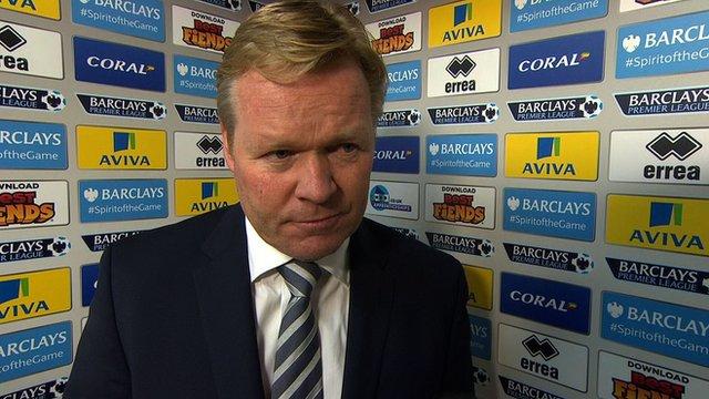 Southampton boss Ronald Koeman