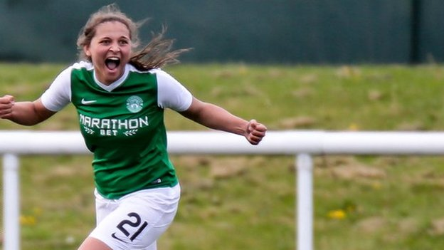 SWPL: Three players sent off for Celtic as Hibs earn late win