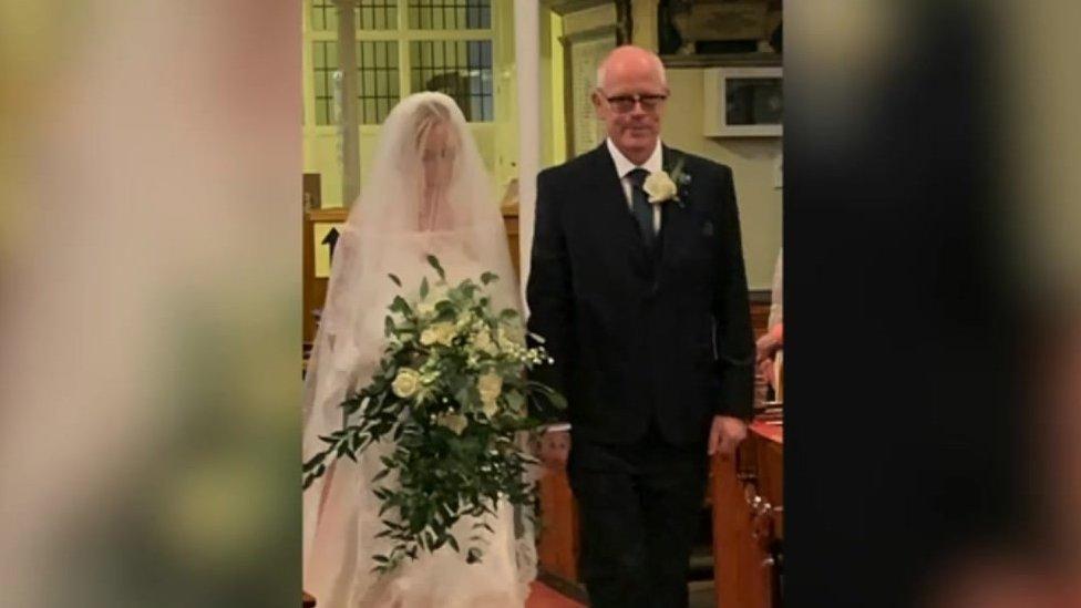 The Bateman wedding