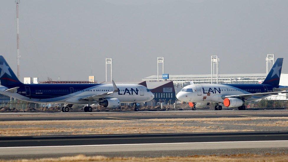 Aviones de LAN