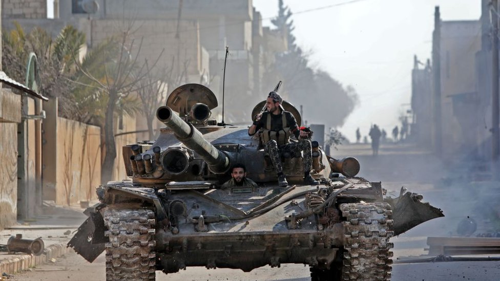 قوات مسلحة معارضة في إدلب