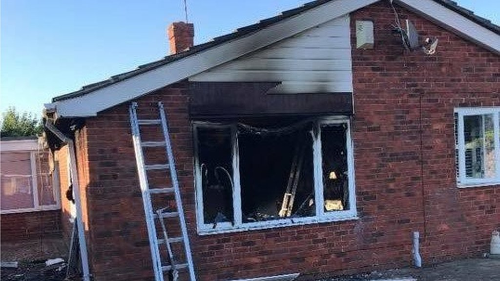 Bognor home damaged by glass ornament blaze