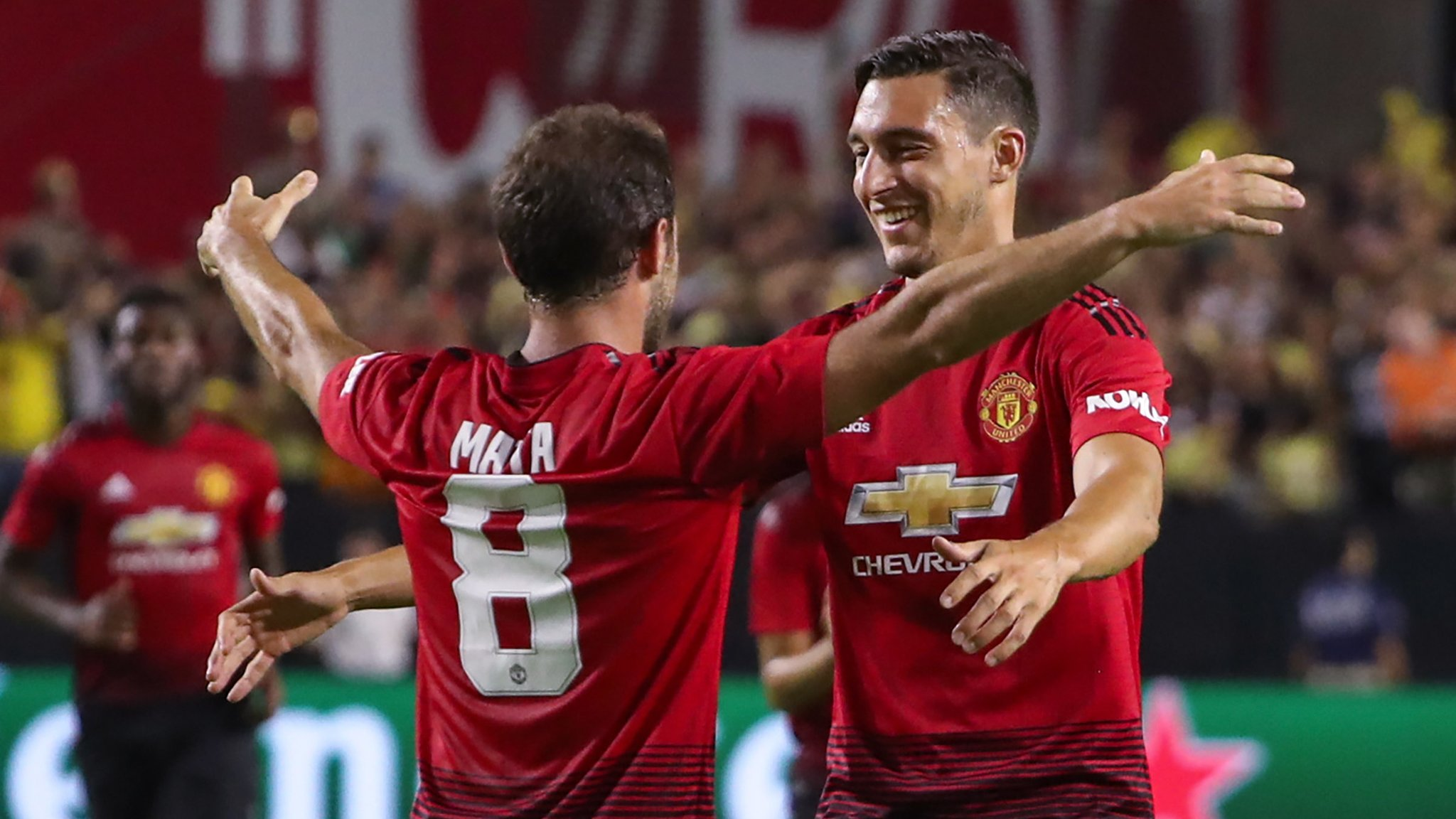 Mata scores as Man Utd draw against Mexican side on US tour