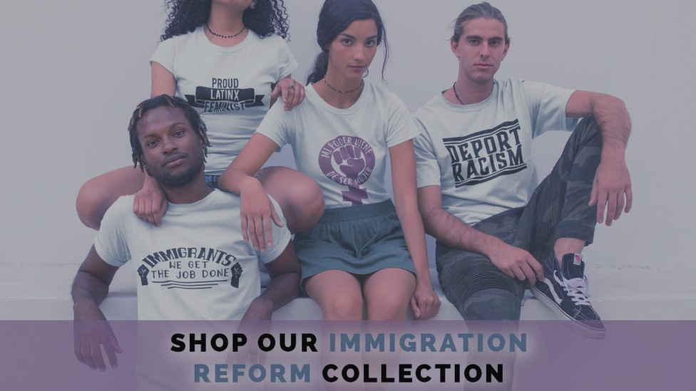 Feminist Apparel's Immigration Reform collection