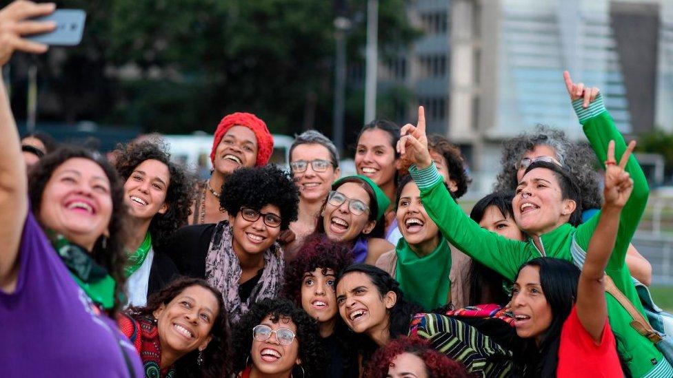 Mujeres en Venezuela.