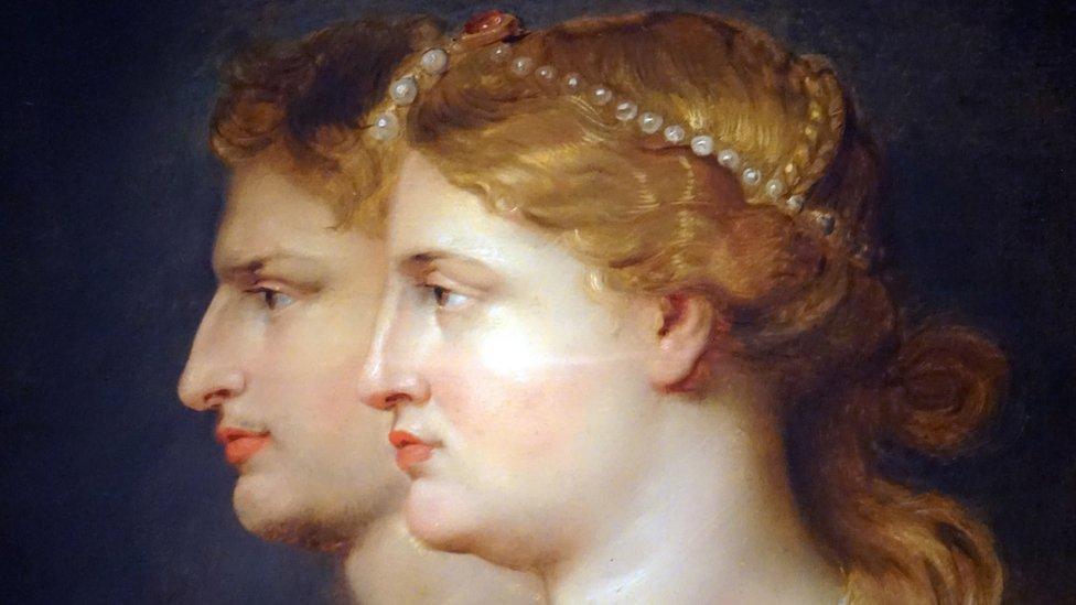 Cuadro 'Agrippina y Germanicus' de Peter Paul Rubens