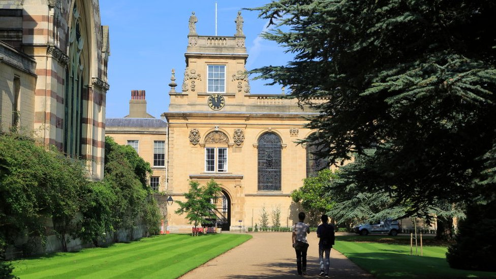 Triniti-kolledž v Oksforde.