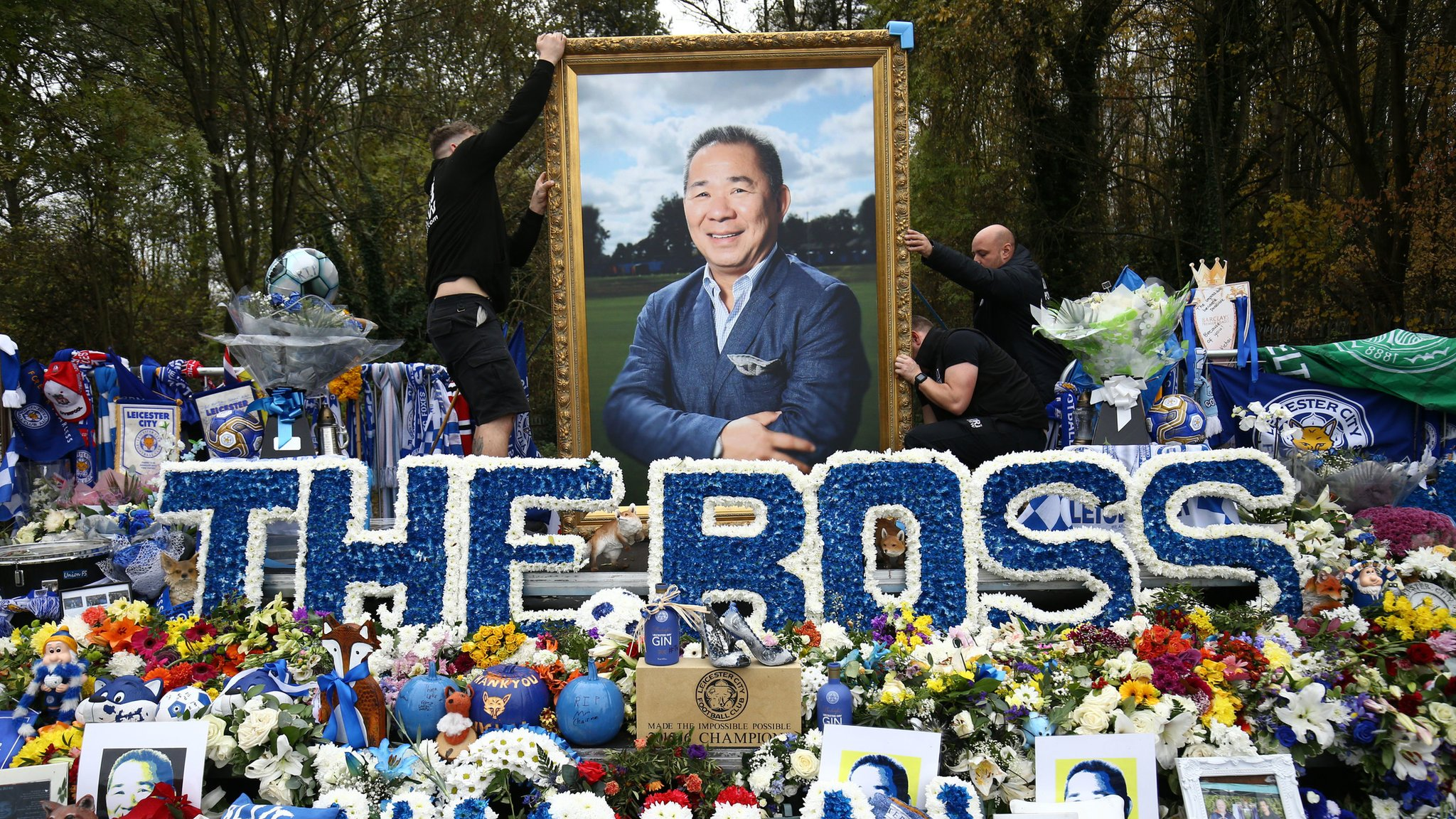 Leicester City helicopter crash tributes moved