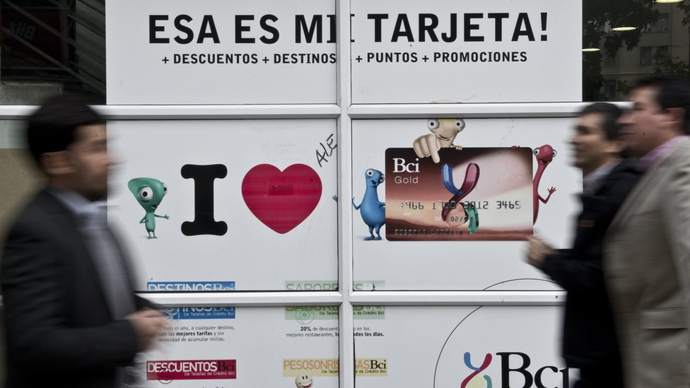 Publicidad de credito en Chile