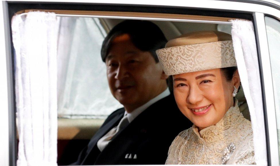 Putra Mahkota Naruhito and Putri Masako