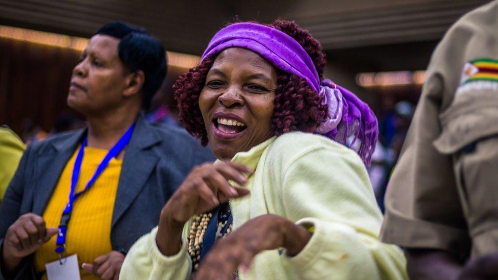 Zanu-PF party candidate