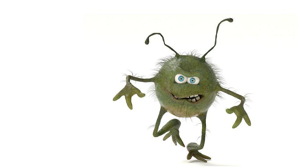 Muñeco de virus