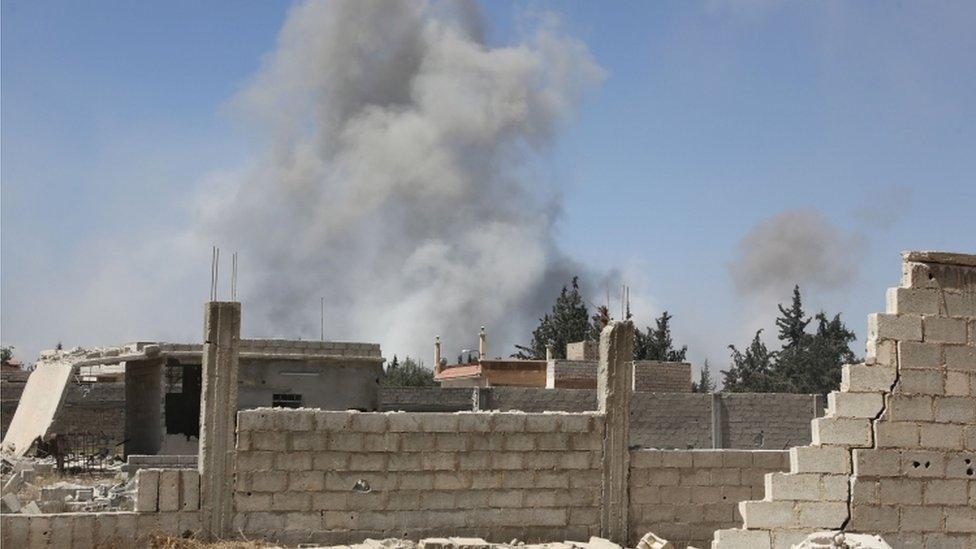 Empiezan a indagar el presunto ataque químico en Siria