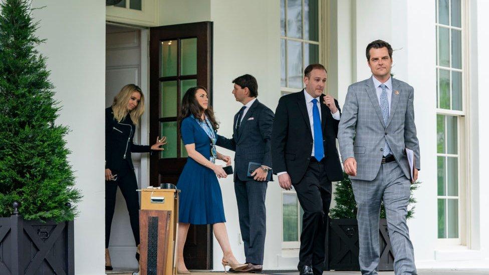 Matt Gaetz e outros nomes próximos de Trump na Casa Branca