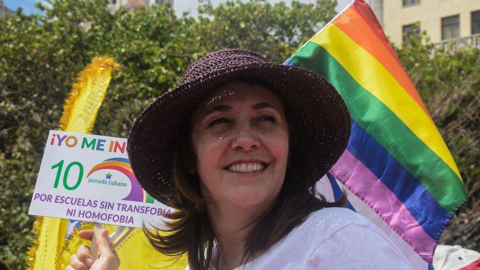 Mariela Castro.