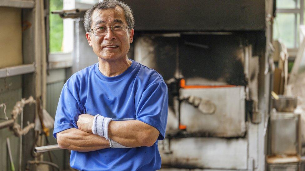 Hombre japonés