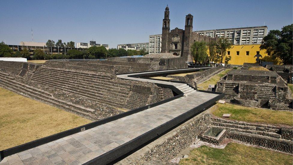 Lugar arqueológico de Tlatelolco