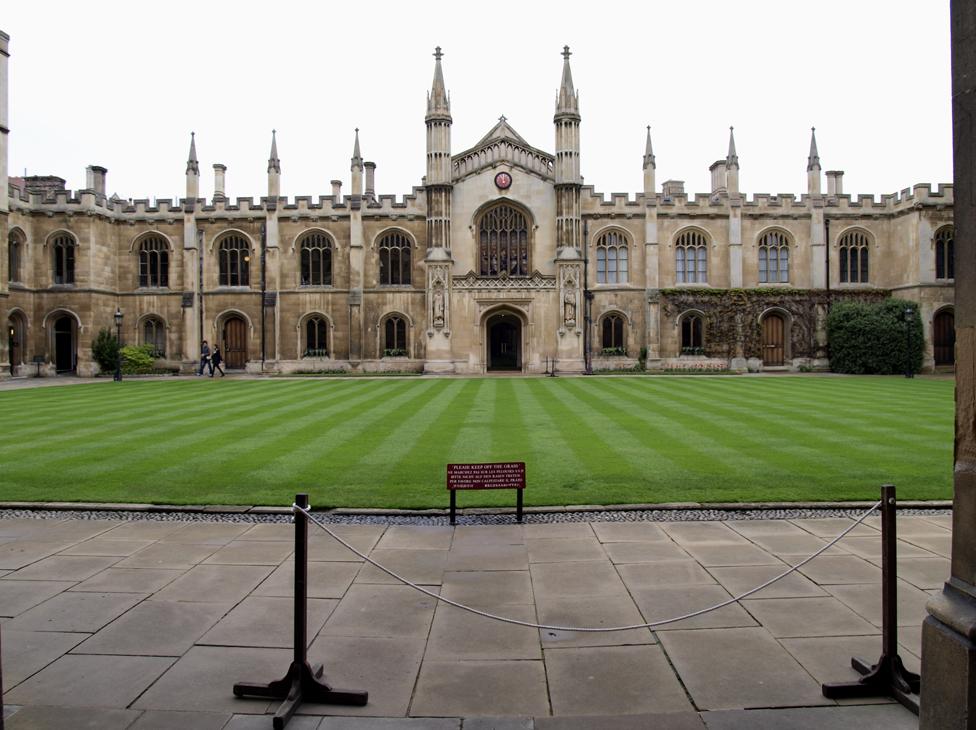 Corpus Christi College Cambridge New Court