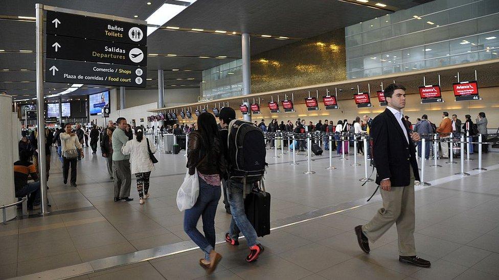 Aeropuerto de El Dorado de Bogotá