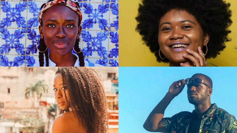 Jessica Anyan-Brown, Briona Lamback, Liz Ogbonna-Godfrey and Kojo Brown.