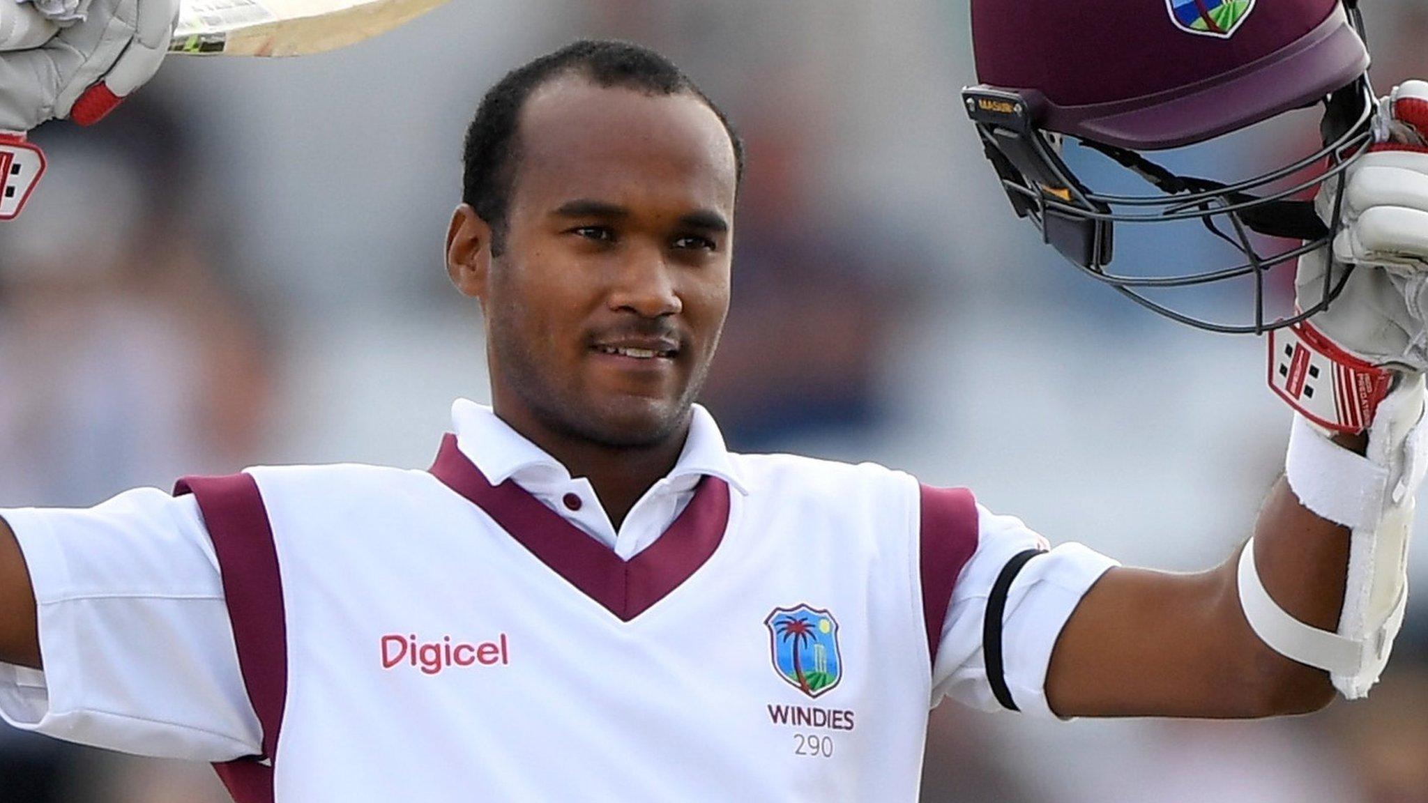 Kraigg Brathwaite: Notts sign West Indies batsman for rest of Championship season