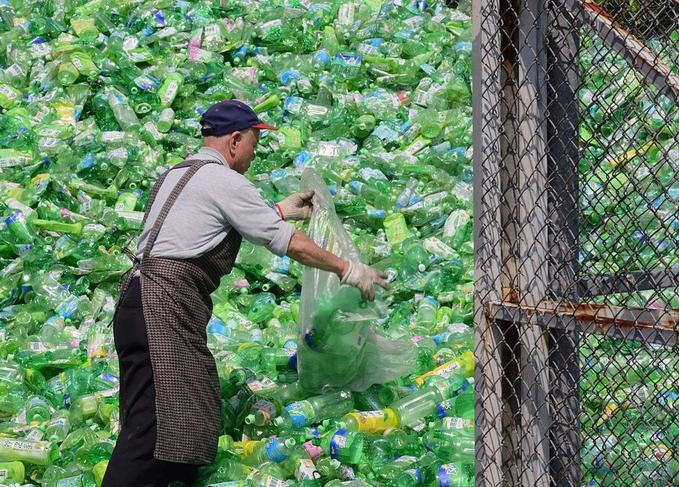 Tajvan ima visoku stopu recikliranja - 55 posto