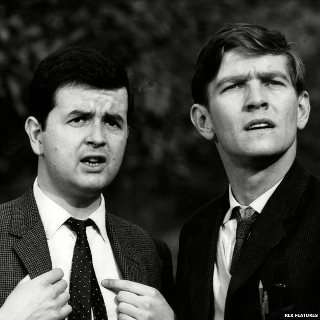 Rodney Bewes & Tom Courtenay