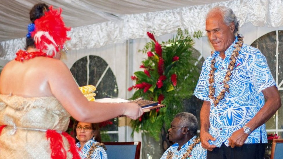Tonga PM challenges Pacific Island leaders to lose weight