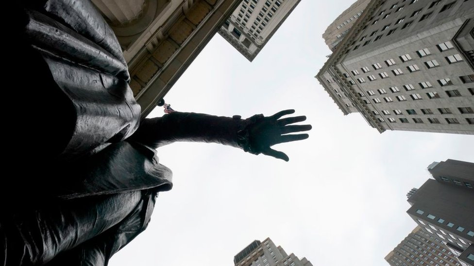 Estatua en Wall Street