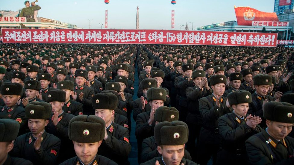 Ejército norcoreano