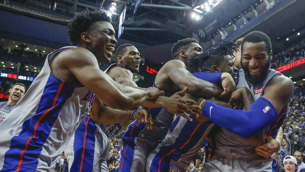NBA: Detroit Pistons beat Toronto Raptors in thrilling final six-second finish